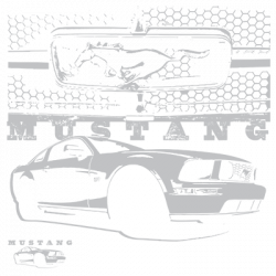 MUSTANG WITH GRILL