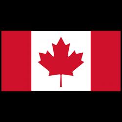 CANADIAN FLAG CREST