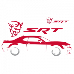 TEMP-DODGE SRT SILHOUETTE