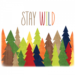 STAY WILD FOREST