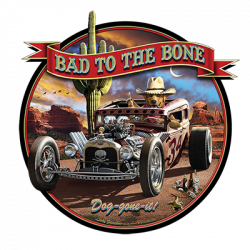 BAD TO THE BONE RAT ROD