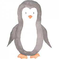 WATERCOLOR PENGUIN