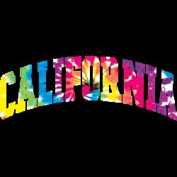 CALIFORNIA ARCH TIE DYE