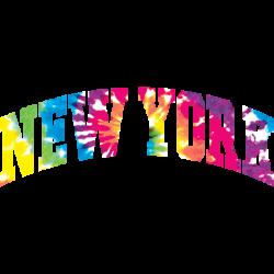 NEW YORK ARCH TIE DYE