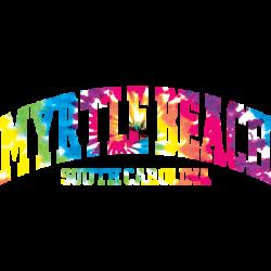 MYRTLE BEACH ARCH TIE DYE