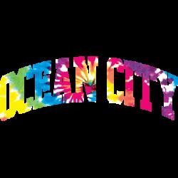 OCEAN CITY ARCH TIE DYE