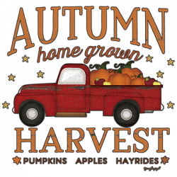 AUTUMN HARVEST TRUCK
