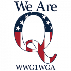 WE ARE Q FLAG