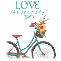 LOVE THE JOURNEY BIKE