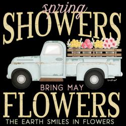 SPRING FLOWERS TRUCK