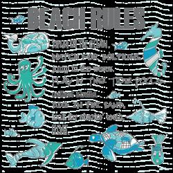 BEACH RULES FSH
