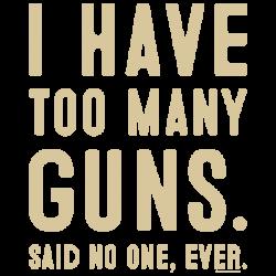 TOO MANY GUNS