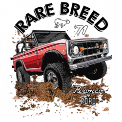 BRONCO RARE BREED
