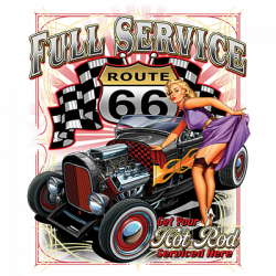 FULL SERVICE 66 HOT ROD