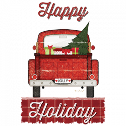 HAPPY HOLIDAY TRUCK