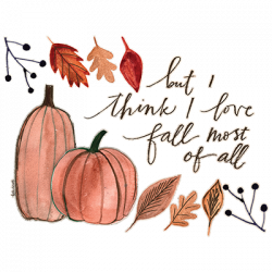 LOVE FALL MOST