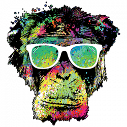 TECHNICOLOR MONKEY