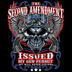 2ND AMENDMENT ISSUED