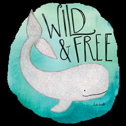 WILD & FREE WHALE