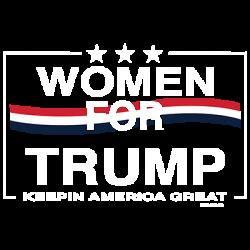 WOMEN FOR TRUMP FLAG