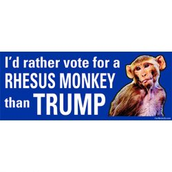 RATHER VOTE FOR RHESUS