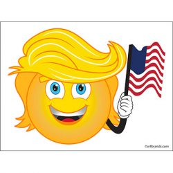 TRUMP EMOJI FLAG