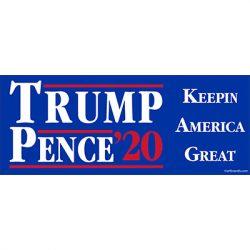 TRUMP PENCE 2020 BLUE