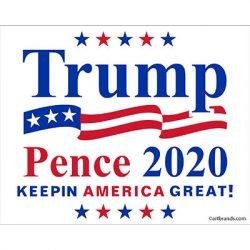 TRUMP PENCE 2020 SQUARE 2
