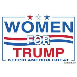 WOMEN FOR TRUMP SQUARE