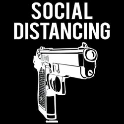 SOCIAL DISTANCING GUN