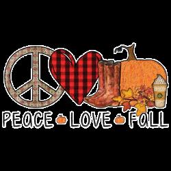 PEACE LOVE FALL