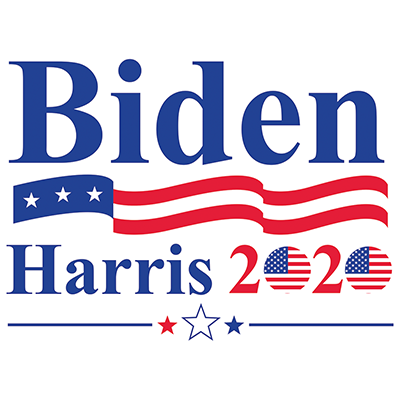 Biden Harris Flags Heat Transfers T Shirt Transfers Iron On Transfers