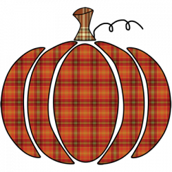 PLAID PUMPKIN ORANGE