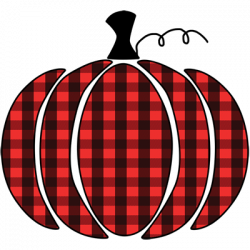 PLAID PUMPKIN RED