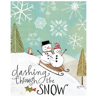 DASHING SNOWMEN