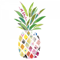 PATTERNED PINEAPPLE