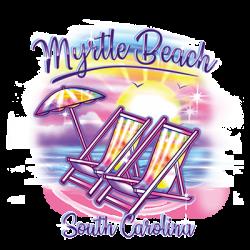 AIRBRUSH CHAIR MYRTLE BEACH