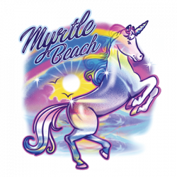 AIRBRUSH UNICORN MYRTLE BEACH