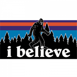 I BELIEVE BIGFOOT