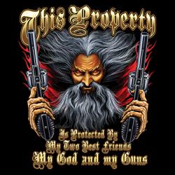PROPERTY GOD GUNS