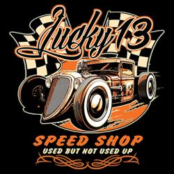 LUCKY 13 SPEED SHOP