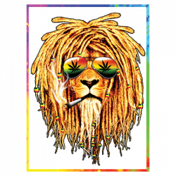 SUNGLASSES RASTA LION