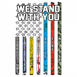 STAND WITH YOU FLAG