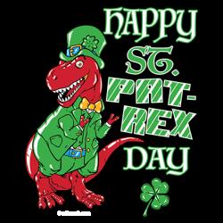 HAPPY ST PAT-REX