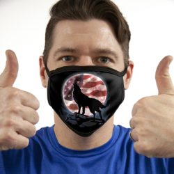 AMERICAN HOWL ALL OVER PRINT MASKS