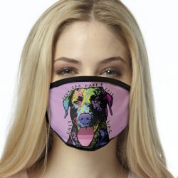 TAIL WAG ALL OVER PRINT MASKS