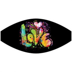 COLORFUL LOVE MASK TRANSFERS