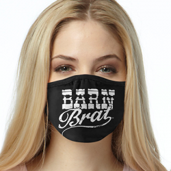 BARN BRAT WHITE FACE MASKS