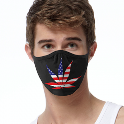 AMERICA POT LEAF FACE MASKS
