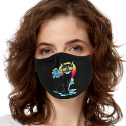 COOL SUMMER CAT  FACE MASKS